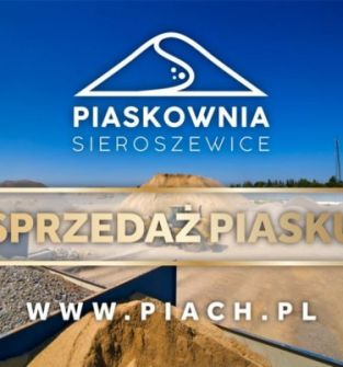 Piasek - Piaskownia Sieroszewice