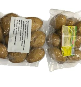 Ziemniaki gotowane pakowane próżniowo, bez konserwantów, wolne od GMO