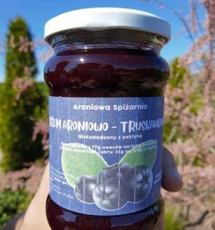 Dżem aroniowo-truskawkowy