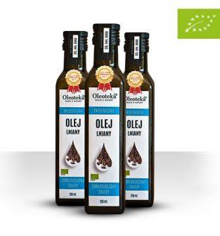 Olej lniany Oleoteka 250 ml