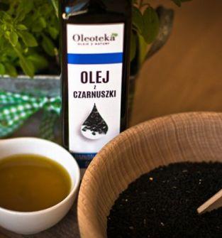 Olej z czarnuszki Oleoteka 100 ml - polskie ziarno