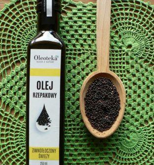 Olej rzepakowy Oleoteka 250 ml