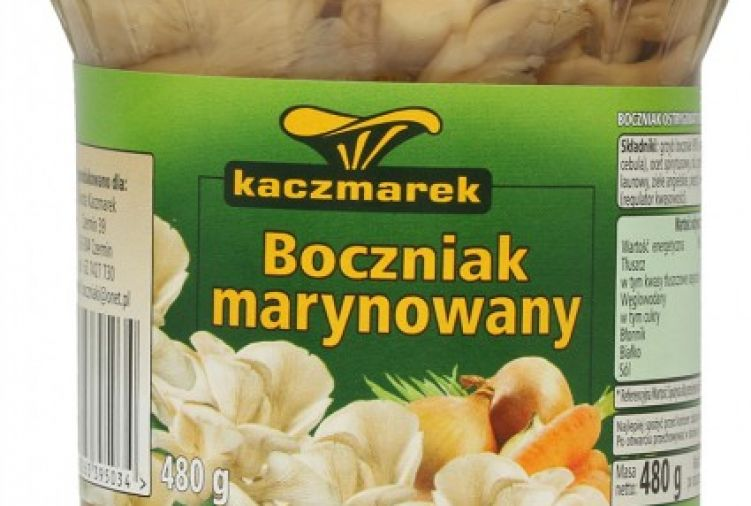 Boczniak marynowany Kaczmarek, 480 g