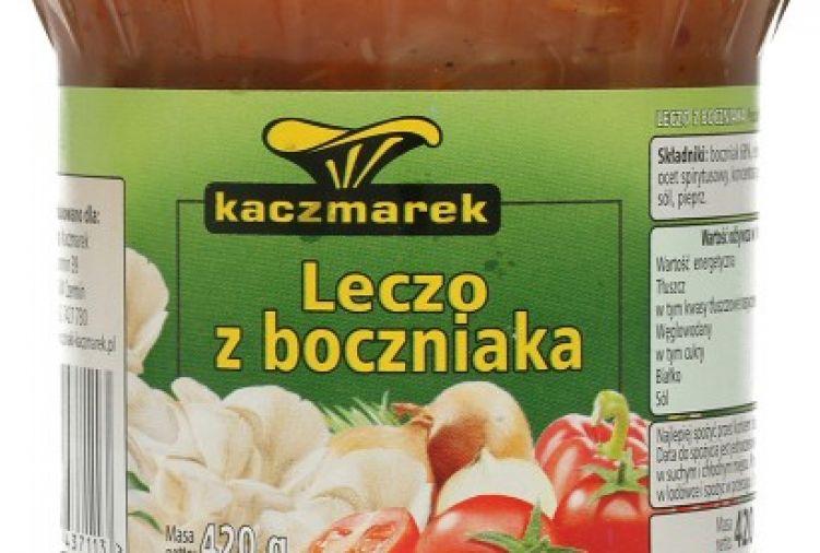 Leczo z boczniaka w pomidorach Kaczmarek, 420 g