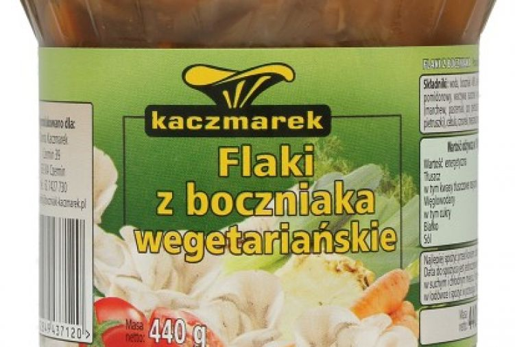 Wegetriańskie flaki z boczniaka Kaczmarek, 440 g