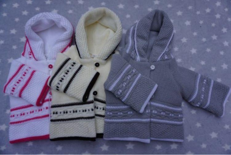 Sweter dziecięcy z kapturem