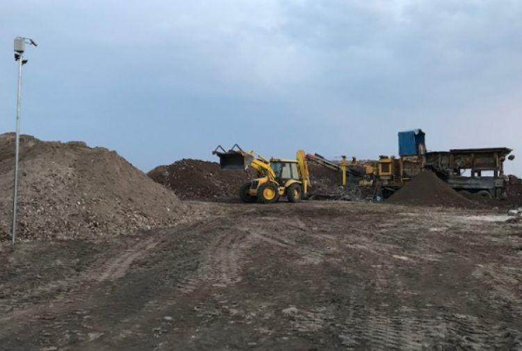 Gruz kruszony betonowy - pod utwardzenie placu, utwardzenie terenu